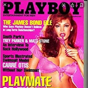 Unopened Playboy Magazine June 2000